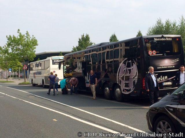 150821 Sommertour Fernbus Haltestelle OL