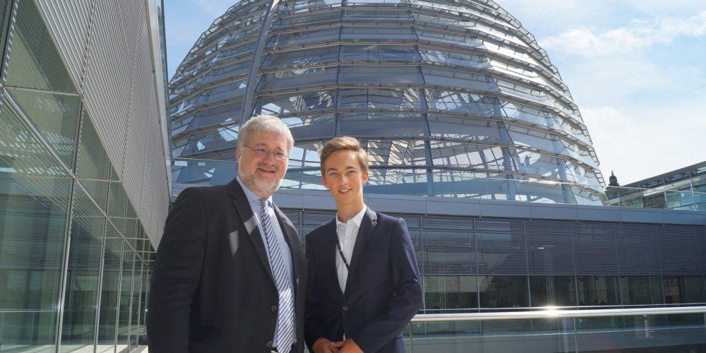 160607 Jugend und Parlament Tim Henschel Oldenburg 1