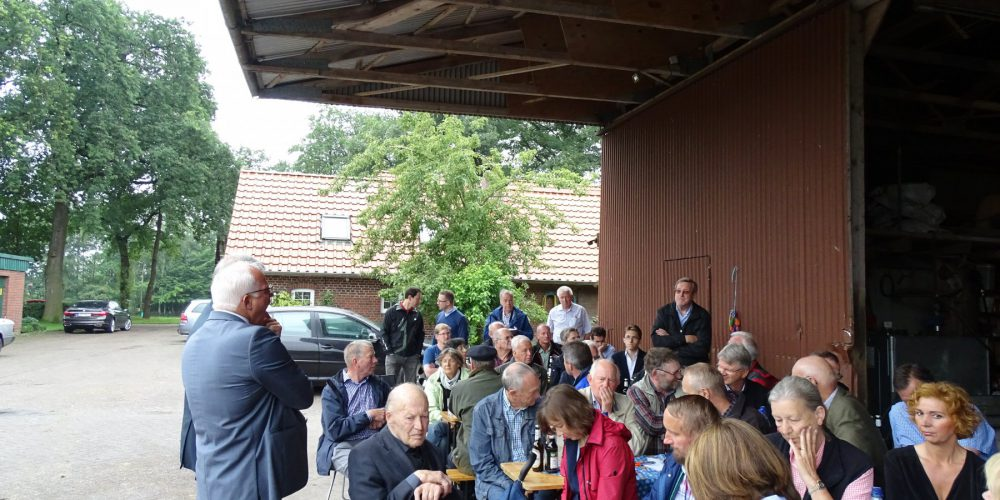 51 Gäste besuchten das 4. Wittenberger Gespräch und stellen zahlreiche Fragen zum Thema Landwirtschaft.