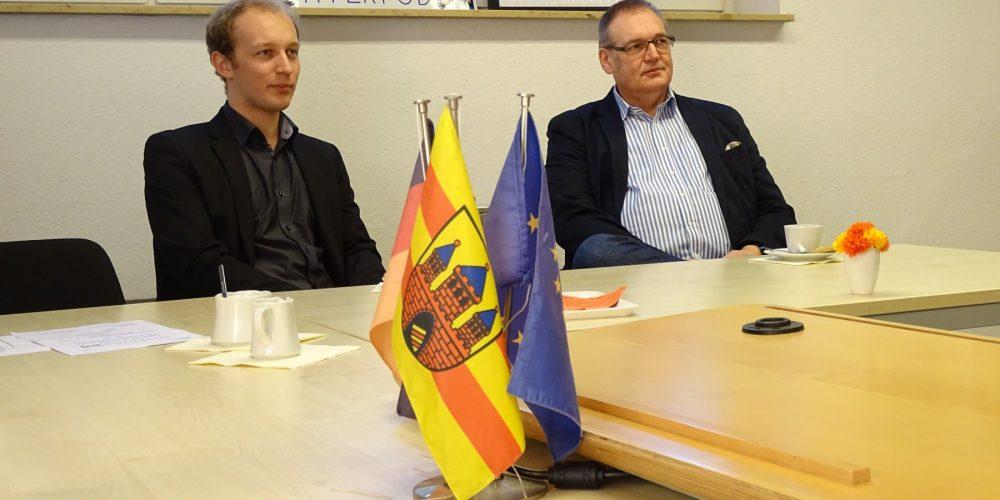 Zu Gast im Wahlkreis Büro Oldenburg: Das Team von HyperpodX!