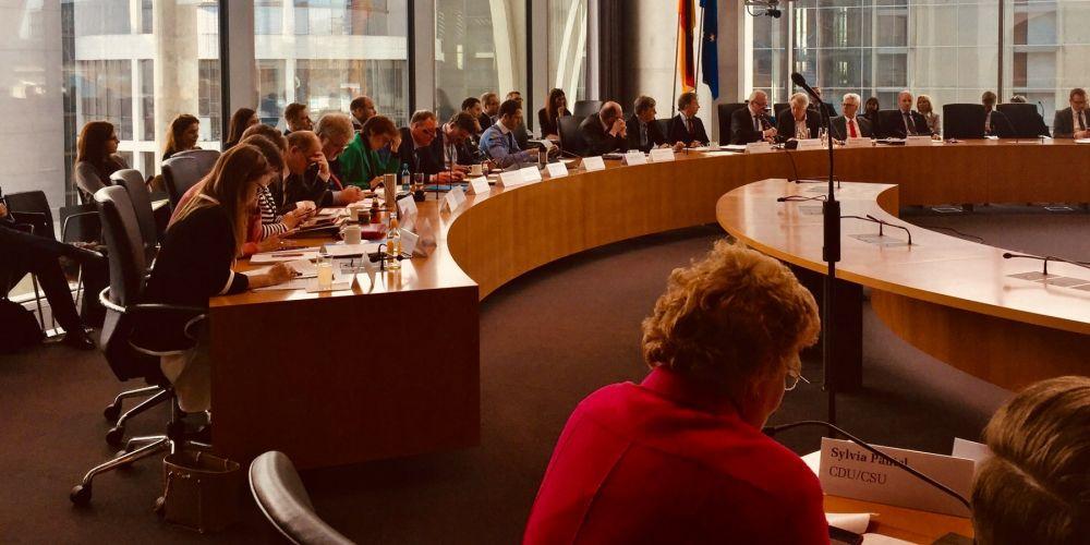Sitzung des Bildungs- und Forschungsausschusses mit Fraunhofer-Präsident Neugebauer